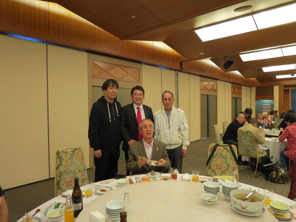 小林前々理事長に会いに行きました